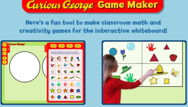 PBS Kids Curious George Game Maker