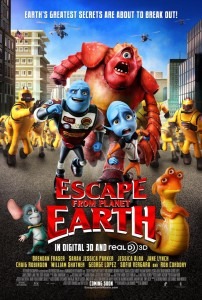 Escape from planet earth movie red carpet premiere giveaway