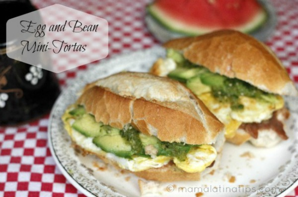 mini breakfast torta recipe by  mamalatinatips
