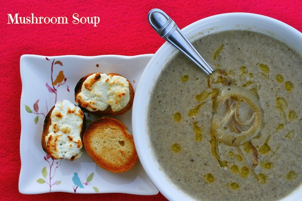 mushroom soup recipe by Presley's Pantry