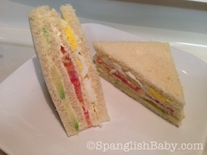 Peruvian Triple sandwich