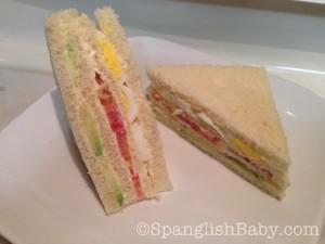 Peruvian Triple sandwich