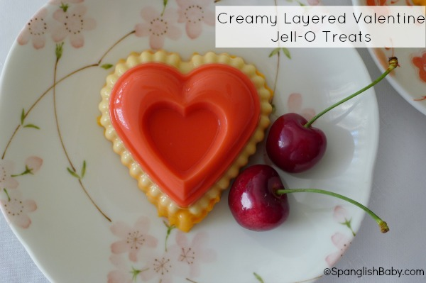creamy layered valentines jell-o treats recipe