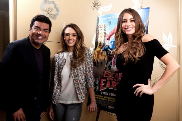 Escape From Planet Earth- George Lopez, Jessica Alba, Sofia Vergara