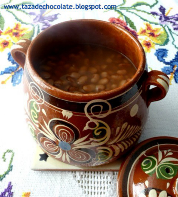 Perfect Pot of Beans recipe - tazadechocolate.blogspot.com