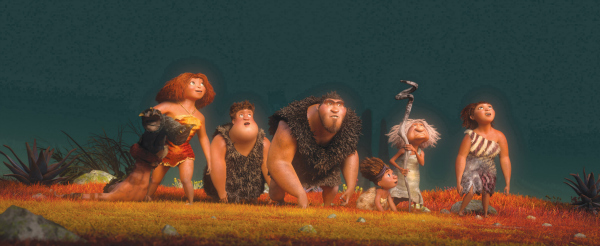 20th Century Fox and Dreamworks Animations - The Croods