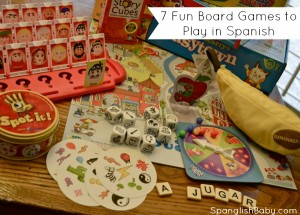 7 fun board games to play in spanish