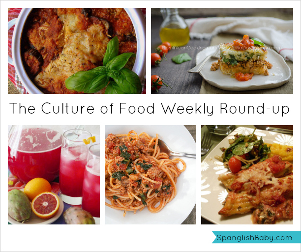 the culture of food weekly roundup, recipes, latina bloggers