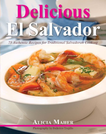 Delicious El Salvador cookbook