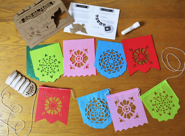 Make Your Own Papel Picado Banners Kit {Giveaway}