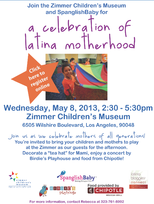 Latina Moms event in Los Angeles Zimmer Museum
