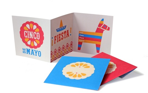 cinco de mayo printable party kit, invite