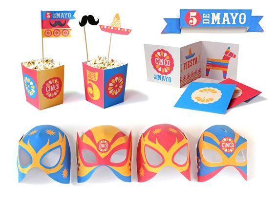 cinco de mayo printable party kit