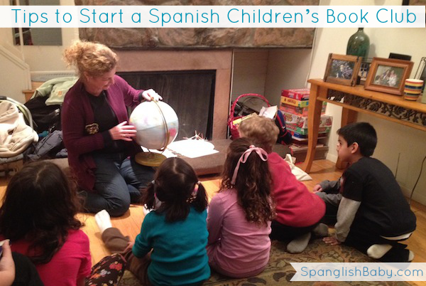 Tips to Start a Spanish Children's Book Club - spanglishbaby.com