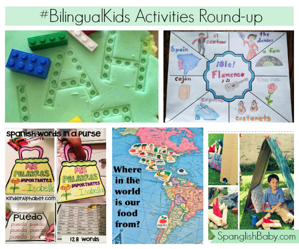 #BilingualKids Activities Round-up - SpanglishBaby.com