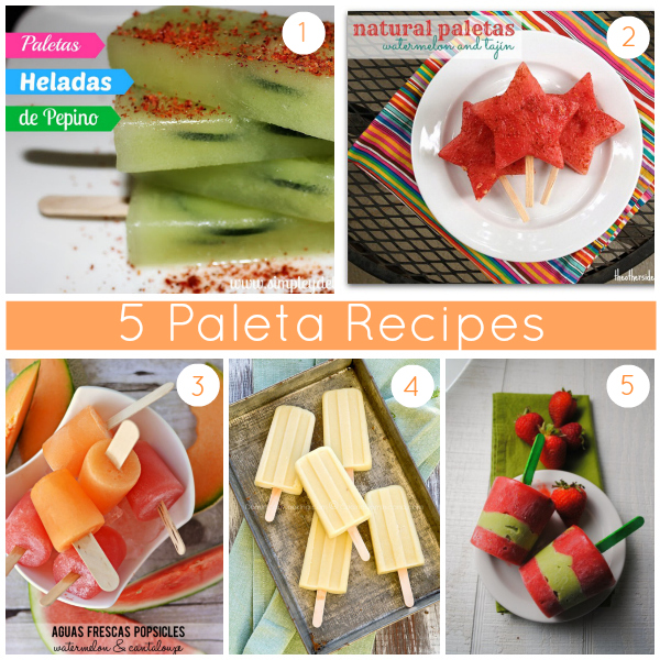 The Culture of Food Weekly Round-Up: 5 Paleta Recipes - SpanglishBaby.com