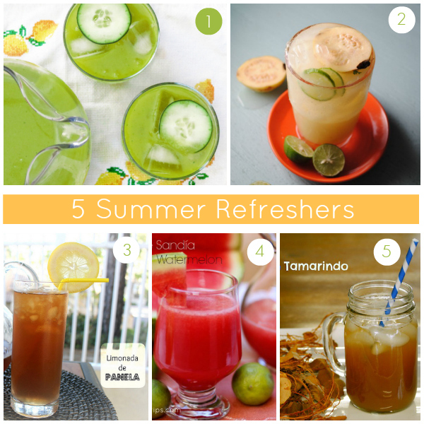 5 Summer Refreshers