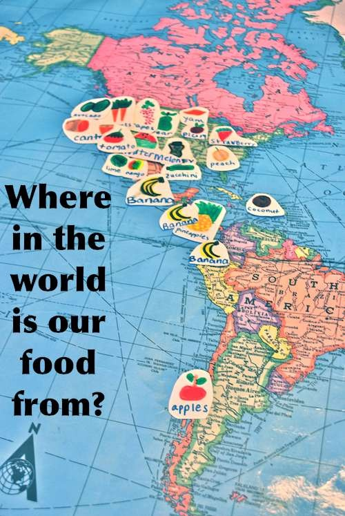 Where In the World Is Your Food From? - kidworldcitizen.org