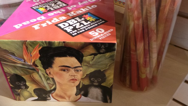 Frida Kahlo art stickers and tattoos