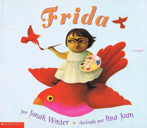 31 Days of Reading in Spanish for #BilingualKids: Frida