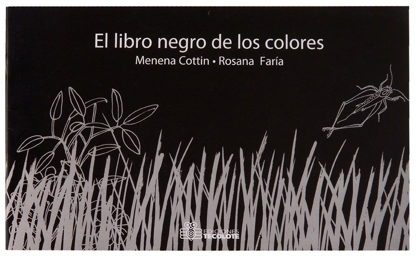 El LIbro Negro de los Colores - Books in Spanish for Kids - SpanglishBaby.com