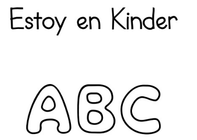 free printables in spanish by Kinder Latino