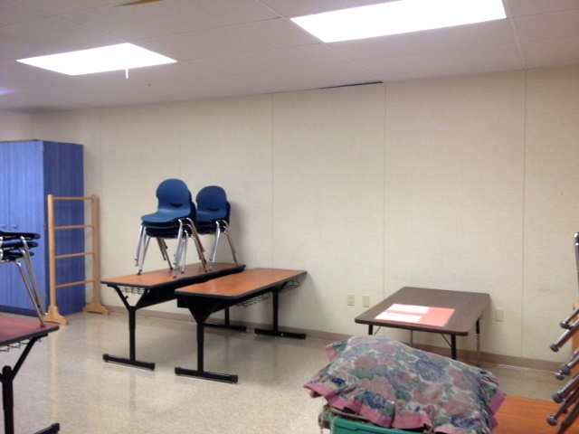 The Back of My Classroom (Before)