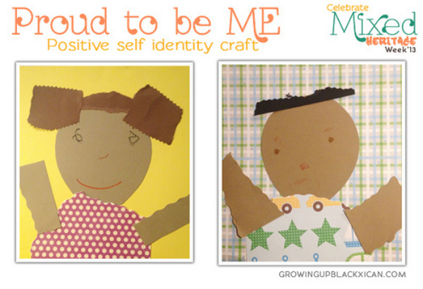 positive self identity craft by growingupblackxican.com