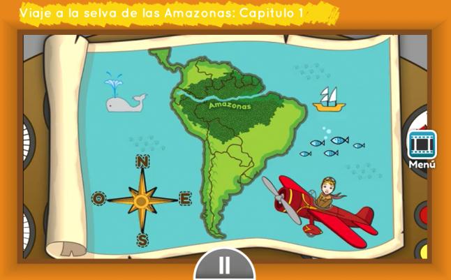 viaje a la selva de las amazonas app