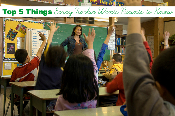 La Maestra's Corner: Top 5 Things Every Teacher Wants Parents to Know. Back to School – Part II