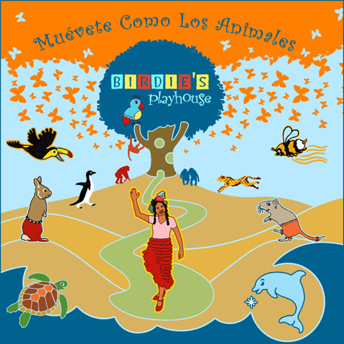 Birdie's Playhouse - Muevete Como Los Animales CD {Giveaway}