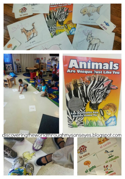 Spanish Language Summer Program Day 6: Los Animales (The Animals)