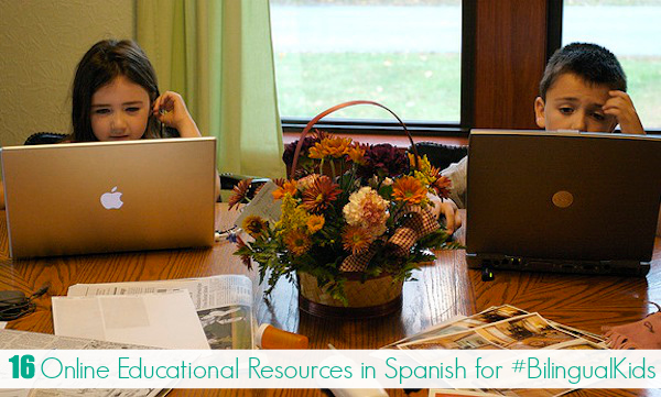 16 Online Educational Resources in Spanish for #BilingualKids - SpanglishBaby.com