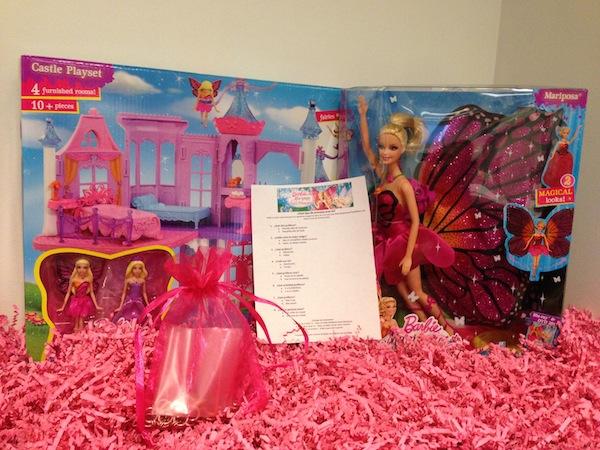 Barbie Mariposa Giveaway