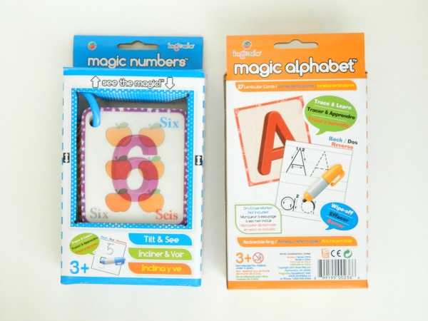 Ingenio: Magic Numbers and Magic Alphabet bilingual learning cards