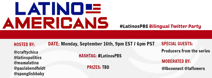 Latino Americans Documentary - Bilingual Twitter Party