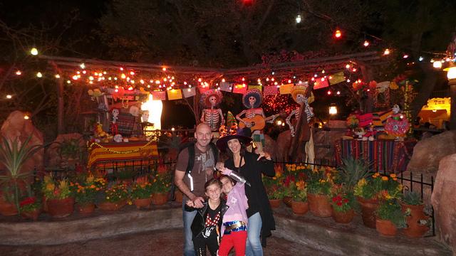 Dia de los Muertos at Disneyland Park