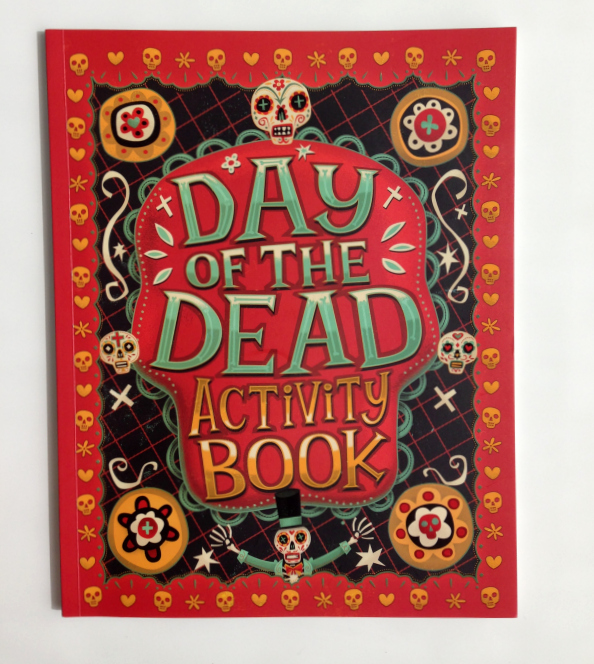 Day of the Dead Activity Book {Giveaway} - SpanglishBaby.com