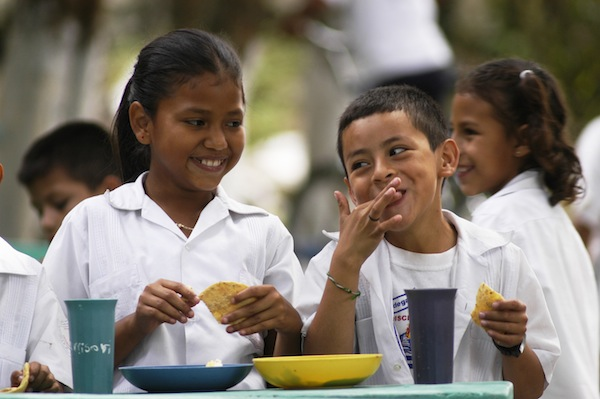 School Feeding in Honduras