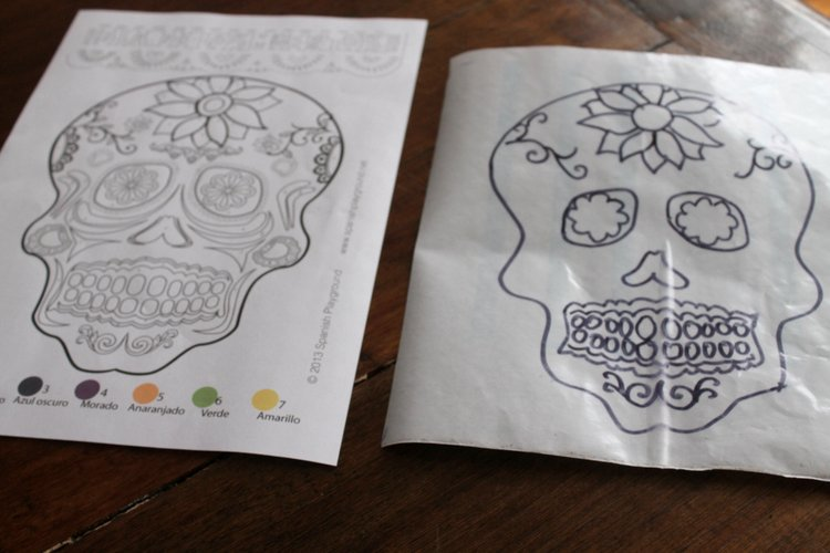 day of the dead printable