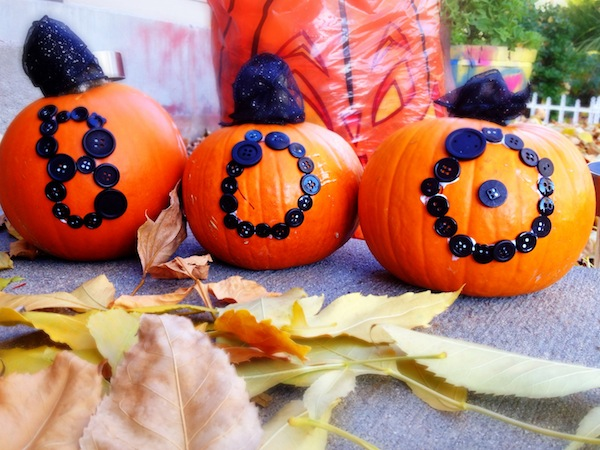 Halloween Craft: Decorate Pumpkins Without Carving
