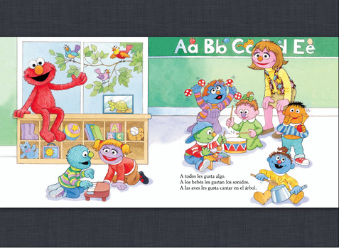 Sesame STreet books in Spanish