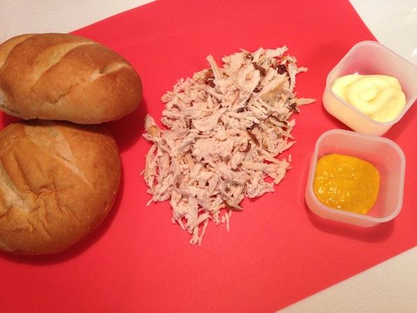 Chicken Sandwich Peruvian Style