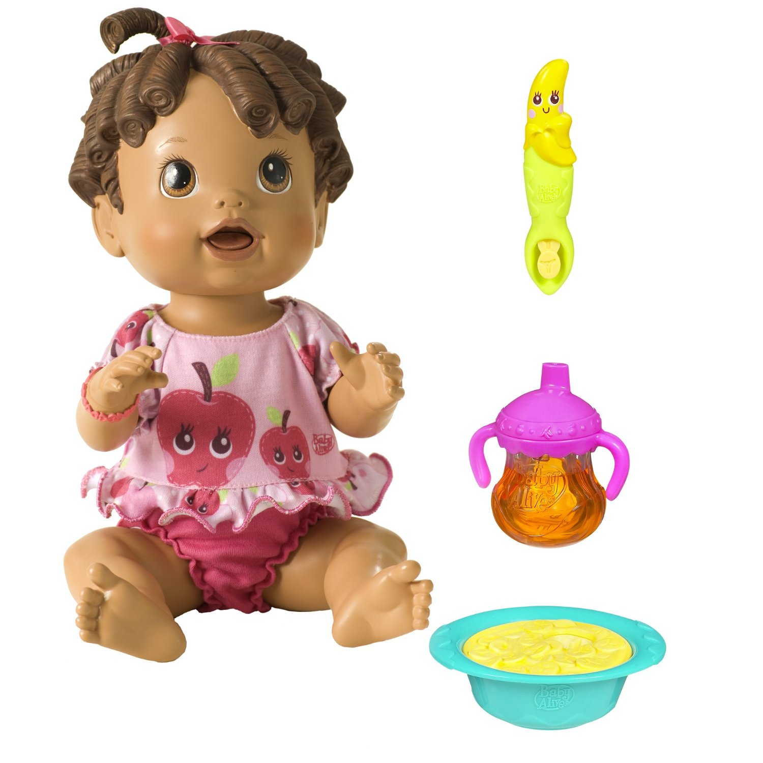 Baby Alive Baby All Gone Bilingual by Hasbro -- SpanglishBaby's 2013 Holiday Gift Guide for Bilingual Kids