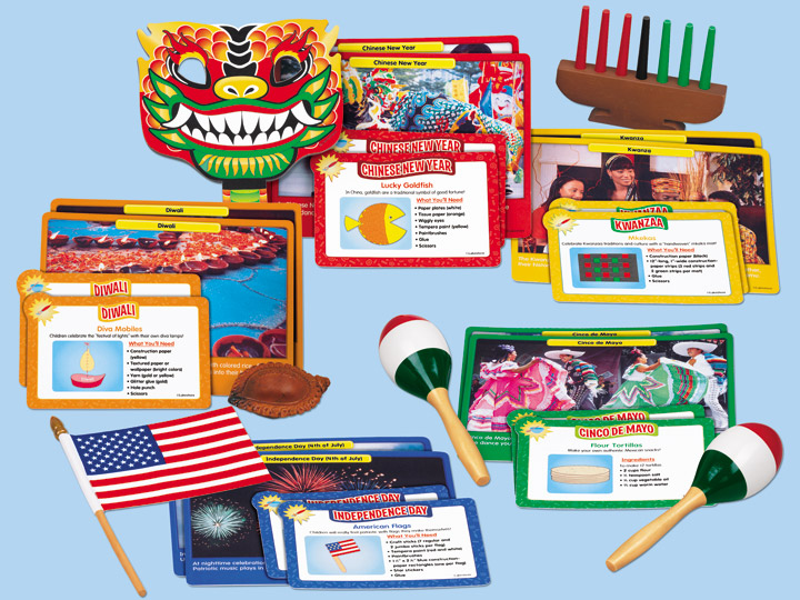 Celebrations Around the World Activity Box by Lakeshore -- SpanglishBaby's 2013 Holiday Gift Guide for Bilingual Kids