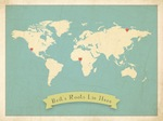 Customizable World Maps by Childrens Inspire Design