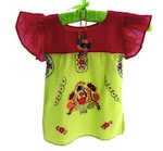 Embroidered Mexican Baby Tunic Dress