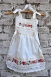 Hand Embroidered Mexican Girl Dress