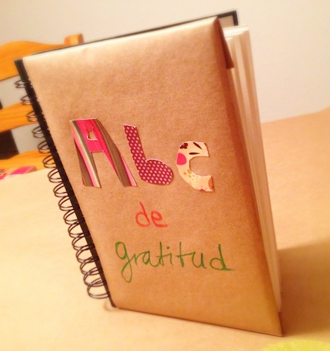 How to Make a Gratitude Alphabet in Spanish