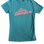 Se Habla Spanglish Women's Fitted T shirts